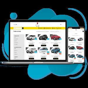 offerta promo su realizzazione sito web automotive